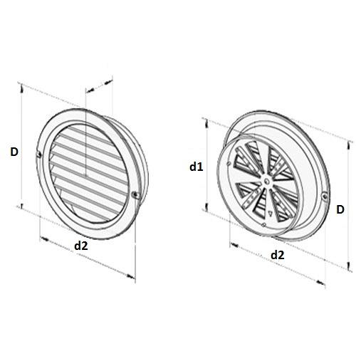 Kruhová mřížka